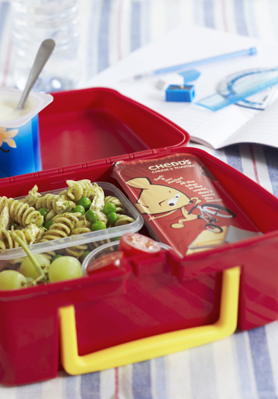 Chicken Pasta Salad Kids Lunchbox Menu