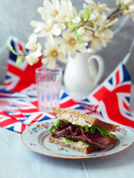 The ultimate sandwich fit for the Queen this Diamond Jubilee, made with the Queen's most loved ingredients