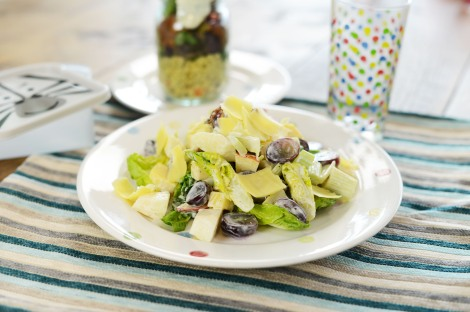 Simple Summer Salad from Lunchbox World